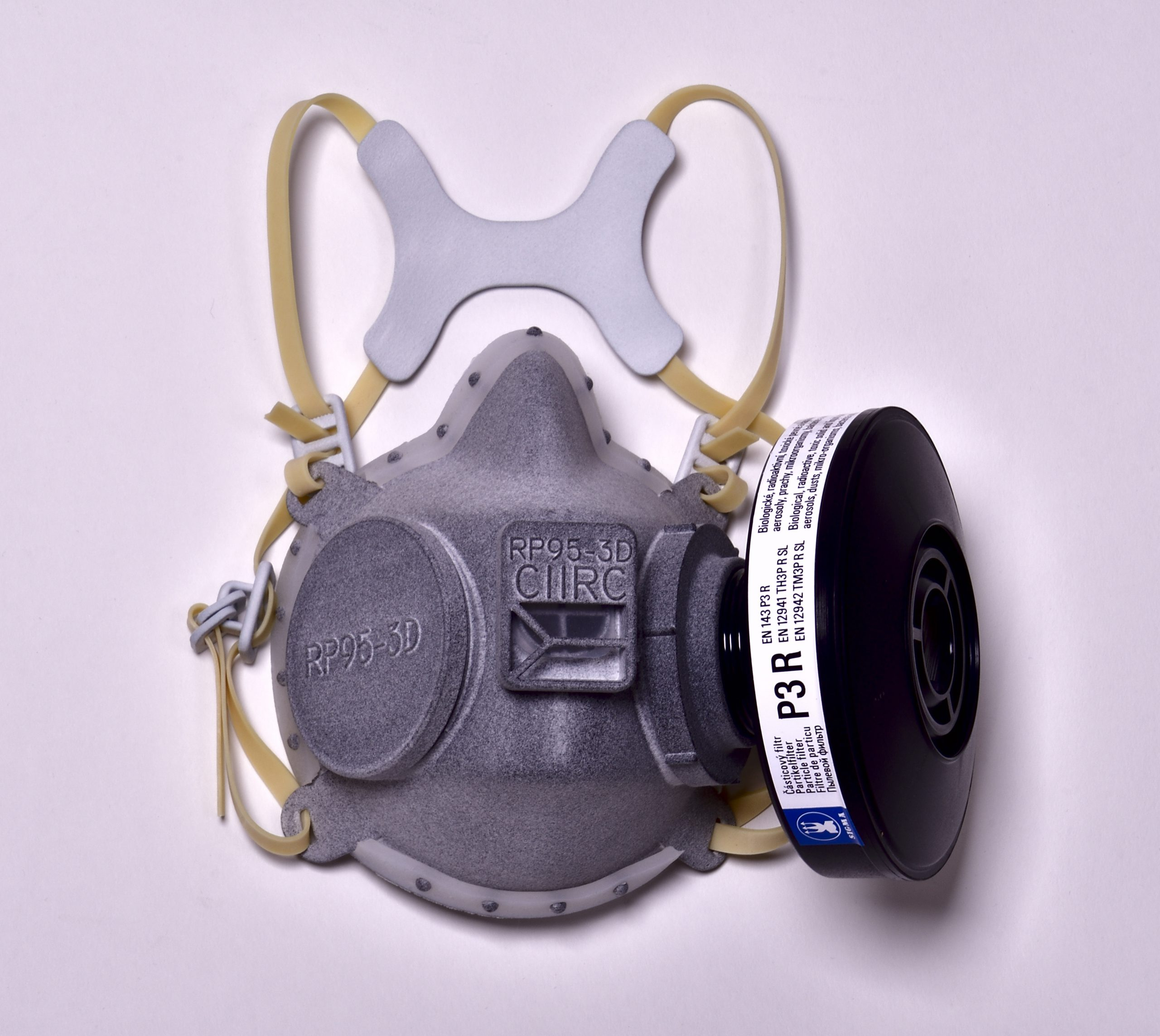 2. <strong>3D Print & Protective half-mask CIIRC RP95-3D  </strong>